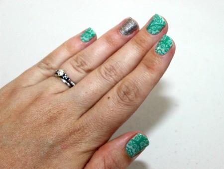 finished nail wraps