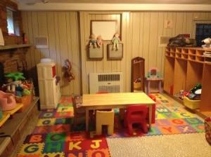 Child play area.