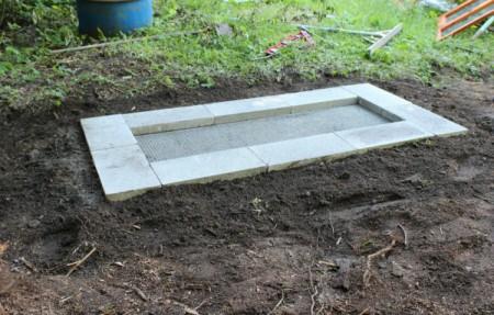 finished coop platform