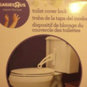 Product Review: BabiesRUs Toilet Cover Lock