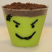 Frankenstein Pudding Cup