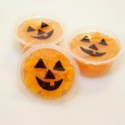 three jack o lantern cups 1