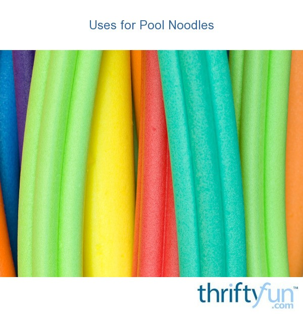 Uses For Pool Noodles Thriftyfun