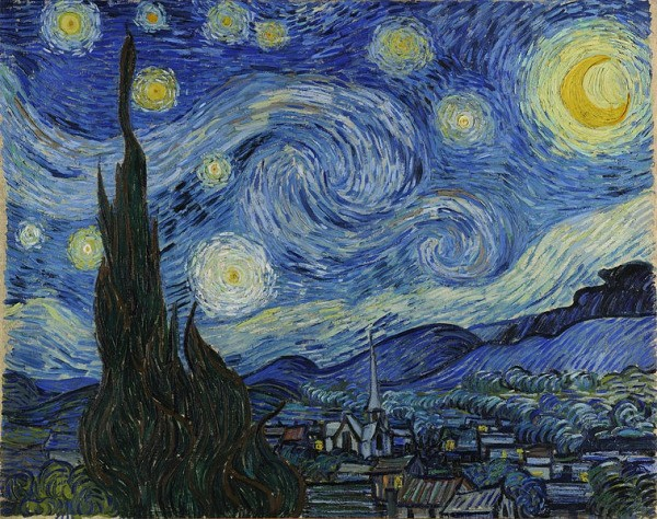 Starry Night By Vincent Van Gogh Choosing A Theme For Your Wedding