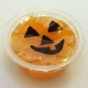 Jack-O-Lantern Fruit Cup