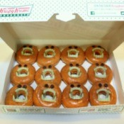 doughnuts in krispy kreme box 1