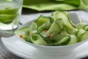 A cucumber salad.