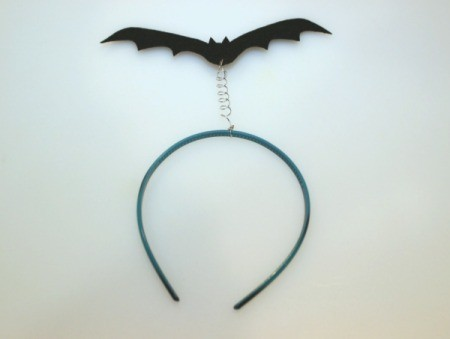 finished bat headband