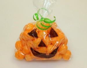 Jack-O-Lantern Snack Bags