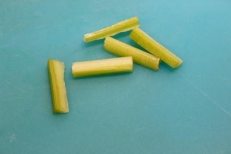 celery stems