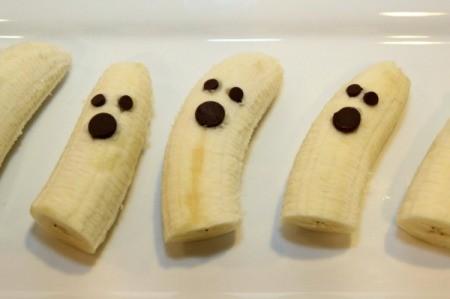 upclose banana ghosts