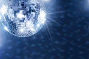 A disco ball for a disco themed homecoming dance.