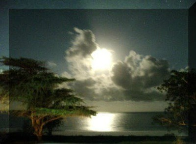 Moon in Africa.
