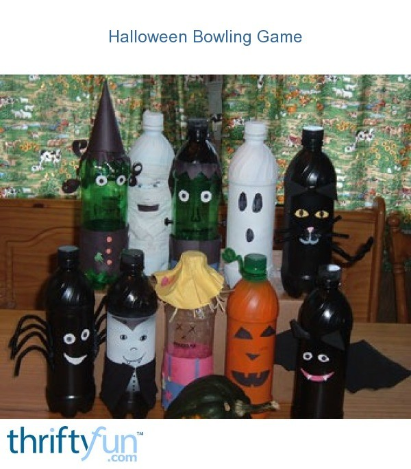 Halloween Bowling Game