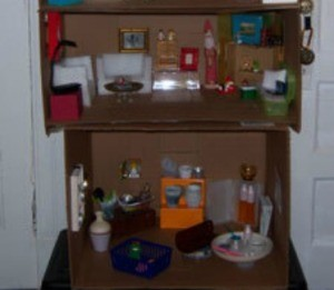 Recycled Dollhouse
