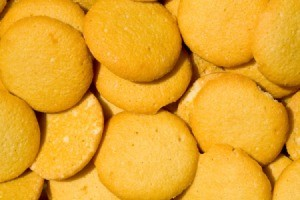 Photo of vanilla wafer cookies which can be used to make pie crust.