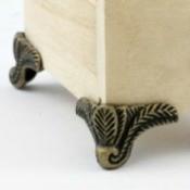 Brass Box Feet