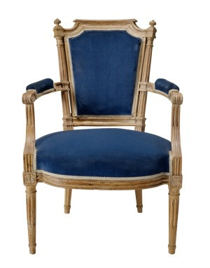 A nice looking antique chair.