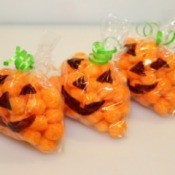 Jack-O'-Lantern Snack Bags