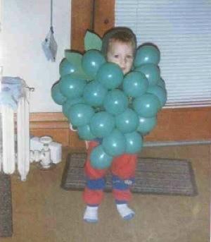 Halloween Costume Grapes