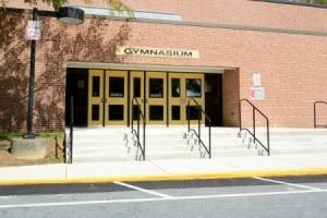 gymnasium doors