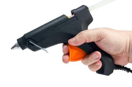Using a Hot Glue Gun