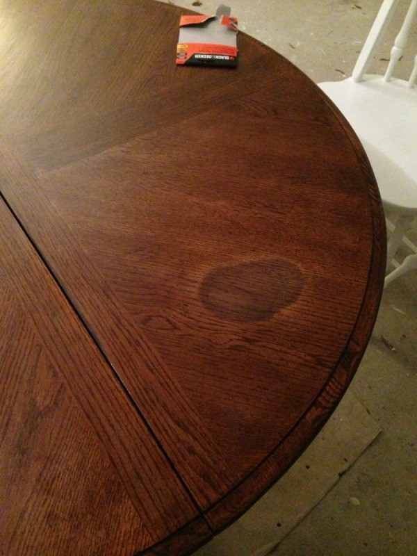 Mark on dining table. Removing Water Marks from Wood Furniture   ThriftyFun