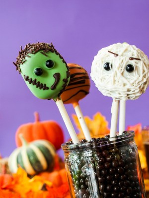 Halloween Lollipop Cookies