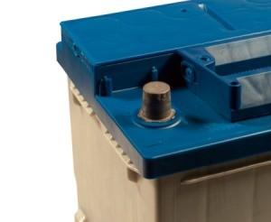 A car battery.
