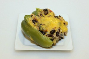 Vegetarian Stuffed Bell Pepper