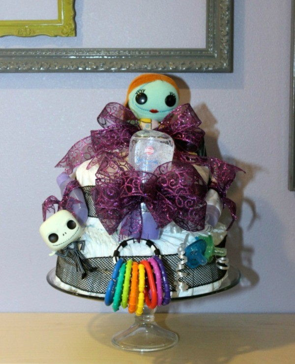Nightmare Before Christmas Diaper Cake Thriftyfun