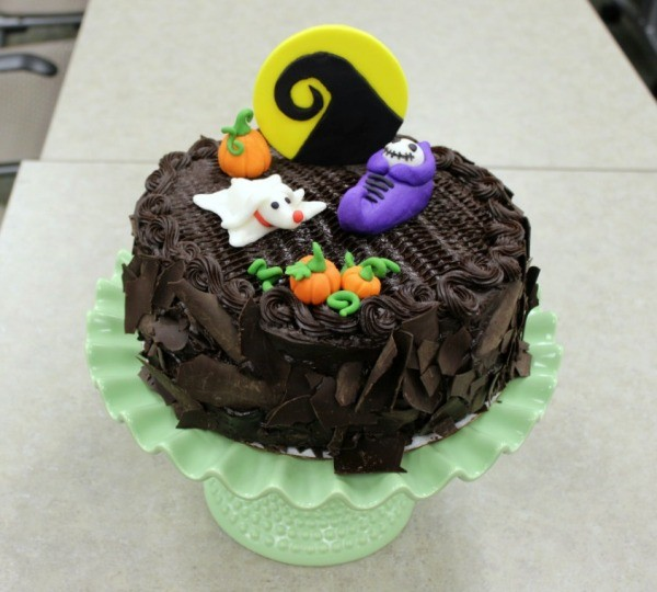 Nightmare Before Christmas Baby Shower Cake | ThriftyFun