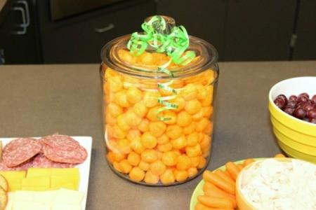 cheese ball jar