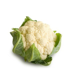 A head of cauliflower.