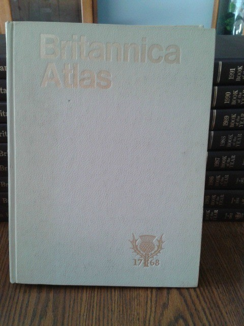 Front cover of atlas.