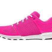 pink tennis shoe