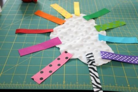 lay out ribbon