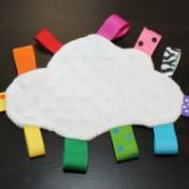 Rainbow Cloud Taggie