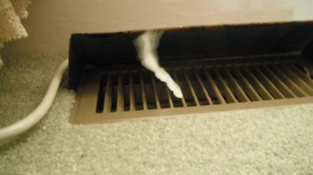 Tissue to Tell if Heat Is Running