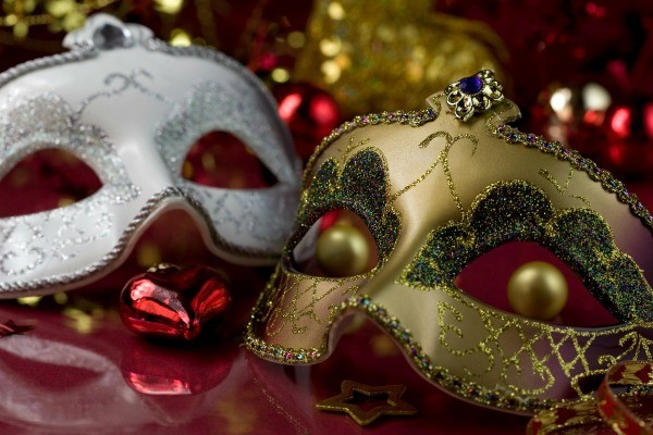 Masquerade Masks At A Ball
