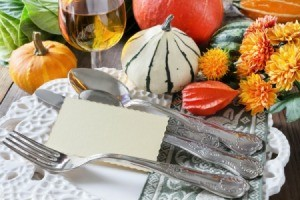 Outdoor Harvest Party Place Setting
