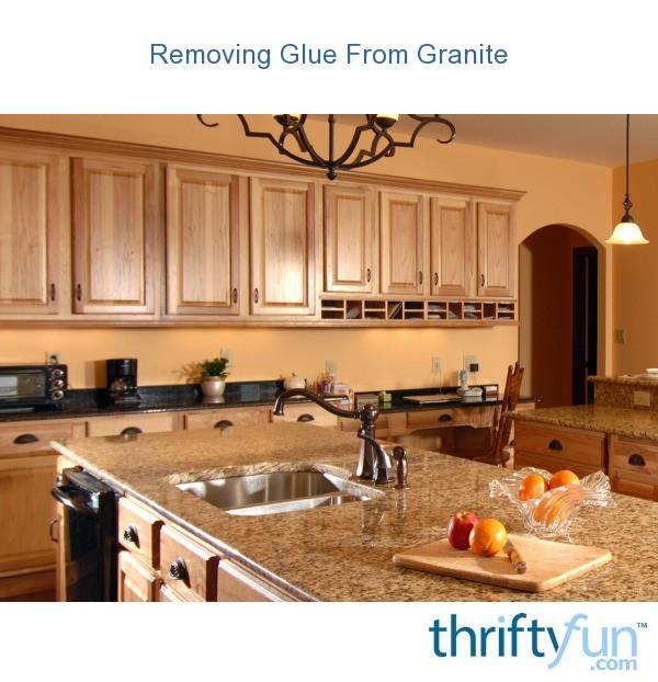 Gluing Granite Countertops
