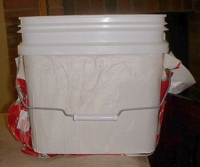 Bucket Before Decoration