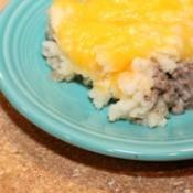 upclose of casserole