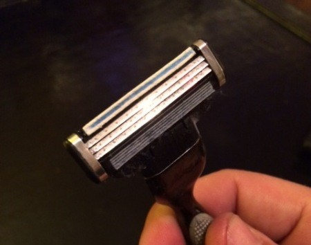 Sharpen Razors with Denim