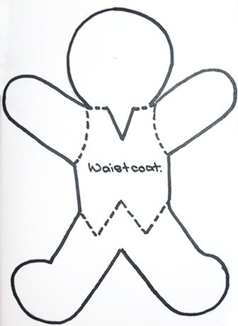 Gingerbread Man Card  Thriftyfun