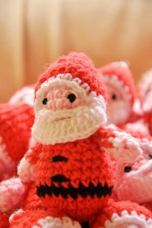 Homemade Santa