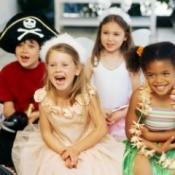 Kids Costume Birthday Party