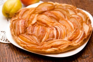 Homemade Pear Pie
