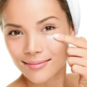 Applying Skin So Soft Under Eyes